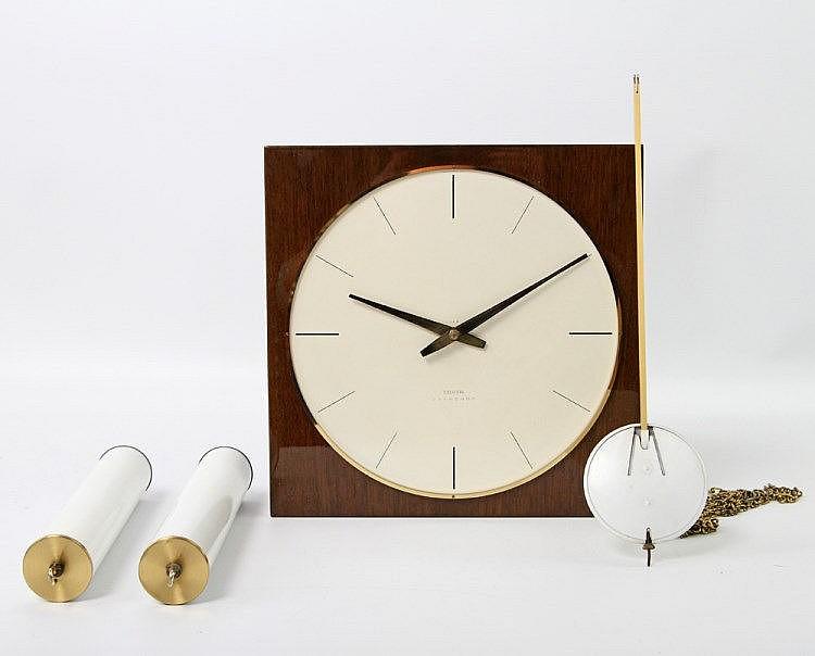 bauhaus wanduhr junghans meister um 1960. Black Bedroom Furniture Sets. Home Design Ideas