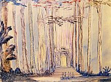 """NÜSSLEIN, HEINRICH (1879-1947): """"Kultstädte in Afrika"""", 20. Jh.,"""