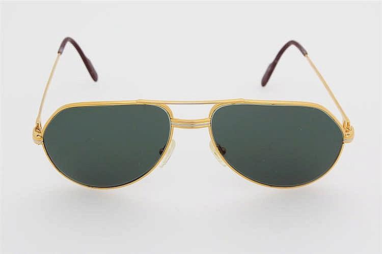 CARTIER VINTAGE edle Sonnenbrille