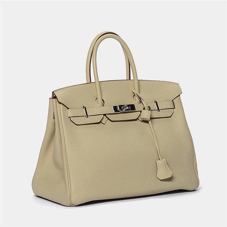 herm s schicke stil ikonen handtasche birkin bag 35 koll. Black Bedroom Furniture Sets. Home Design Ideas