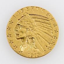 USA - 5 Dollars 1913, Indian Head,
