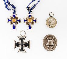 Konvolut Orden und Auszeichnungen, 19. und 20.Jh. -