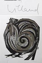 WILLAND, DETLEF (*1935): Hahn, 1993,