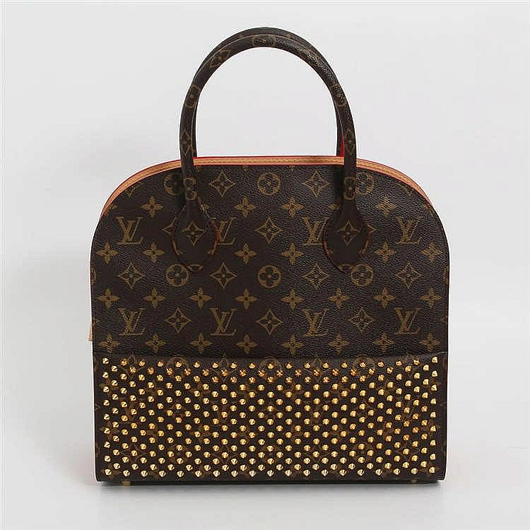 LOUIS VUITTON X CHRISTIAN LOUBOUTIN exklusive Handtasche