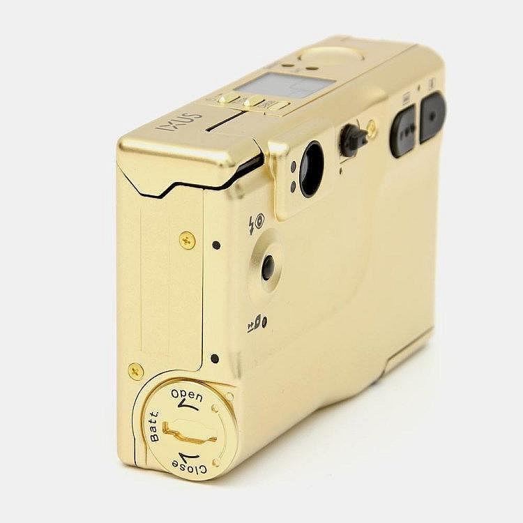 Canon Quot Ixus Ix240 Camera Gold Limited Edition 60th Anniversa