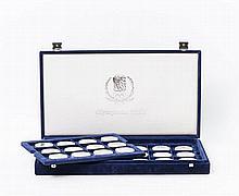 Olympische Spiele - Zusammenstellung aus 1992/1998, 49 Münzen,