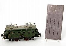 MÄRKLIN E-Lok RS 66/12910, Spur 0, ca. 1930er Jahre,