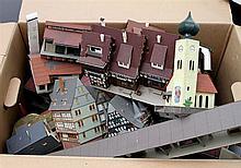 FALLER u.a. umfangreiches Konvolut Häuser,
