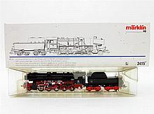 MÄRKLIN Dampflok mit Tender 3415, Spur H0,
