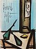 BUFFET, BERNARD (1928-1999): Stillleben mit Flasche,, Bernard Buffet, €150
