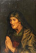 WOHL FLÄMISCH, 18./19. Jh.: Heilige Anna.