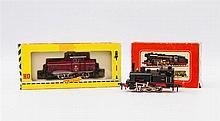 FLEISCHMANN zwei Lokomotiven 1380 und 1315, Spur H0,