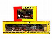 FLEISCHMANN zwei Lokomotiven 1364 und 4030, Spur H0,