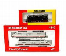 FLEISCHMANN ICE 4440 und Lok 4093, Spur H0,