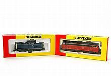 FLEISCHMANN Diesellok 4231 und 4237, Spur H0,