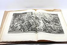 Grosses Mappenwerk 'La Gallerie du Palais Luxembourg', Paris 1710, mit ca. 25 großformatigen Kupferstichen