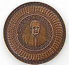 Vatikan - Bronzemedaille auf die Papstwahl Pius X.,
