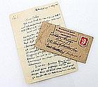 Soldatenbrief, Ende III. Reich/1945 -