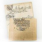 Deutschland - Autographen Deutscher Adel 17. und 18. Jh,