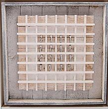 """SCHLENKER, FELIX ( 1920-2010): """"Nagelbild"""", 1991,"""