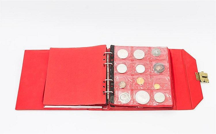 Sammlung mit GOLD - Alben mit Schwerpunkten bei deutschen und österreichischen Münzen,