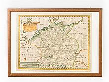 Historische Landkarte, o.J. -