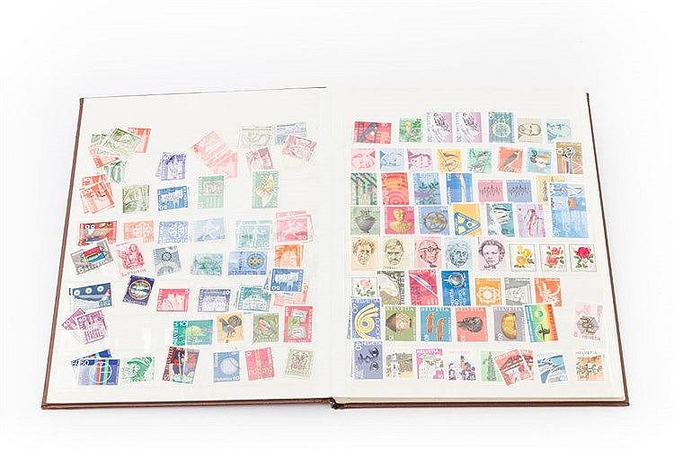 Schweiz - kleine Zusammenstellung postfrischer Marken, Mitte der 70er Jahre,