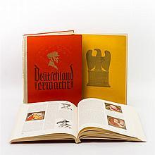 3 Zigarettenbilderalben, 1930er Jahre - alle Alben herausgegeben vom Cigaretten-Bilderdienst Hamburg-Bahrenfeld. 1 x