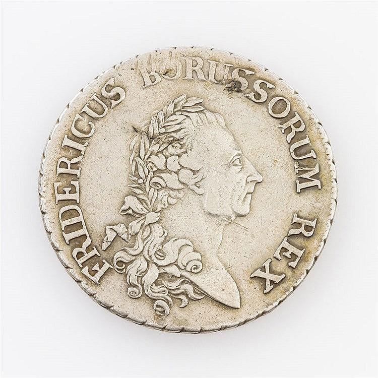 Preussen - Kanonentaler 1786/A, Friedrich d. Große,