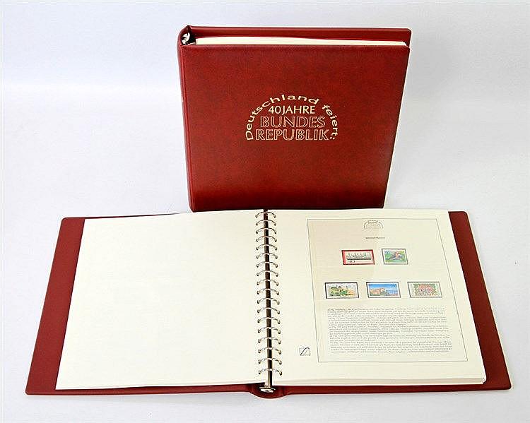 40 Jahre BRD - 2 bändige, thematische Sammlung,