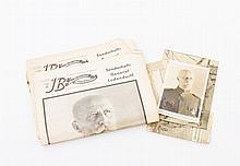 Autograph Ludendorff  - Postkarte mit Fotografie Erich Ludendorffs, wohl mit persönlicher Widmung,