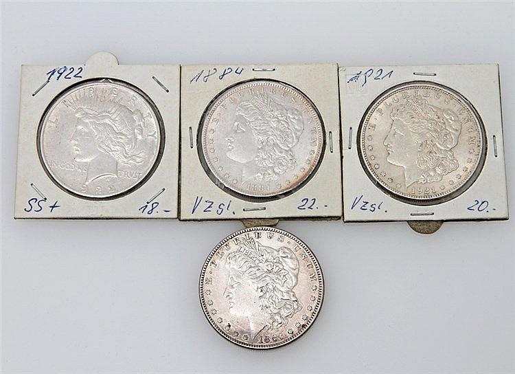 USA - 4 x 1 Dollar,