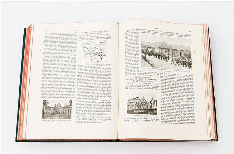 Buch zum 1. Weltkrieg, Anfang 20. Jh. - Otto v. Moser, Die Württemberger im Weltkrieg. Ein Geschichts-, Erinnerungs- und Volksbuch, 1927.