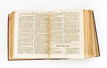 Bibel, 2. H. 18.Jh. - Johann S. Braun (Hrsg.), Biblia. Das ist die ganze heilige Schrift alten und neuen Testaments nach der deutschen Übersetzung D. Martin Luthers