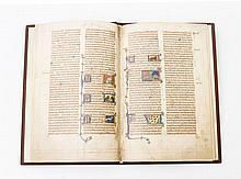 Faksimilie einer mittelalterlichen Schrift - The Peterborough Bestiary/ Das Bestiarium aus Peterborough, Luzern 2003.
