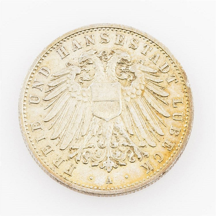 Lübeck - 2 Mark 1906 A.