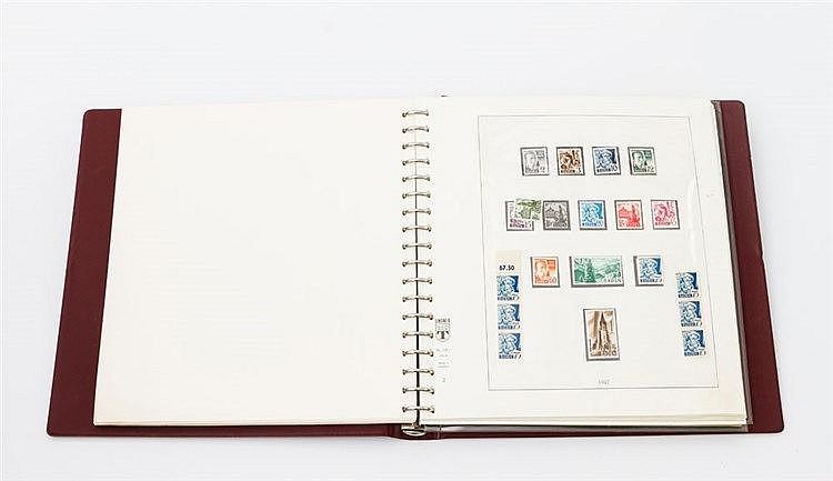 Französische Zone - Vordruckalbum mit Sammlung Französische Zone ab Michel Nr.1.