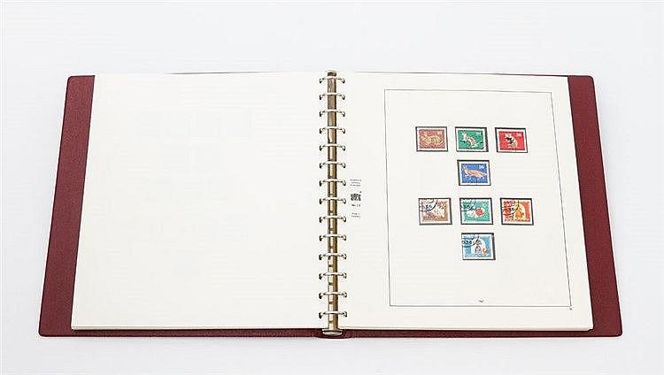 BRD - fast komplette gestempelte Sammlung BRD ab 1949 bis 1972.