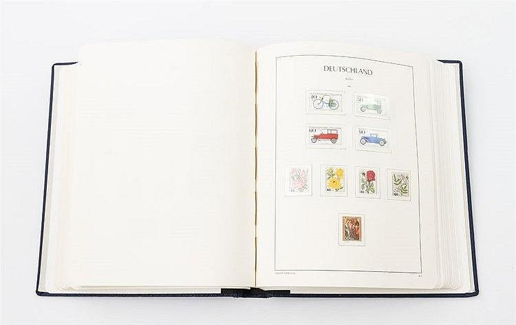 Berlin - postfrische Sammlung beginnend mit der Michel Nr. 42 bis in das Jahr 1989.