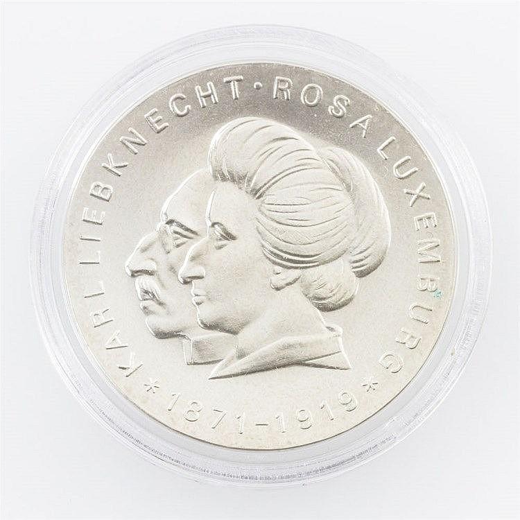 DDR - Karl Liebknecht und Rosa Luxemburg,