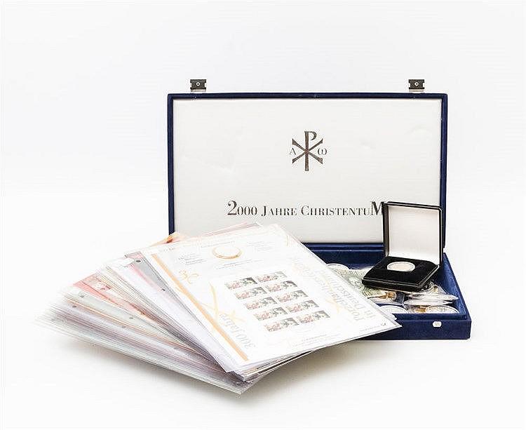 Medaillen - Einiges SILBER, dazu Numisbriefe 21 x 10 Euro , 3 x 10 DM.