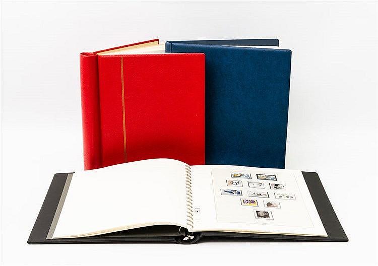 BRD -  3 Alben mit einer Sammlung BRD 1949-93.