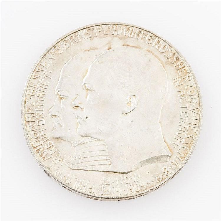Hessen - 5 Mark 1904,