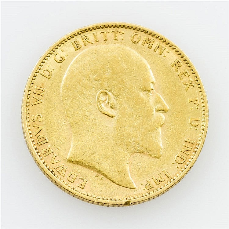 GB/ GOLD - 1 Sovereign 1903/M, Edward VII.,