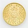 Sachsen - 20 Mark 1903/E, König Georg, vz.,