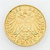 Sachsen - 10 Mark 1898/E, König Albert, ss., kleine Randfehler,