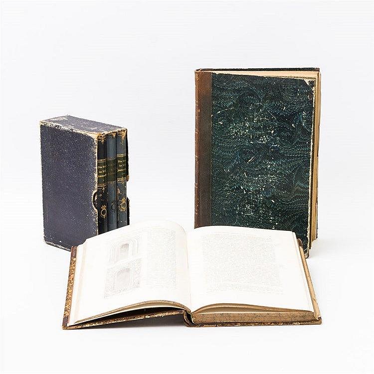 5-teiliges Bücherkonvolut, Thematik: Kunst und Kultur des 19. Jhs.