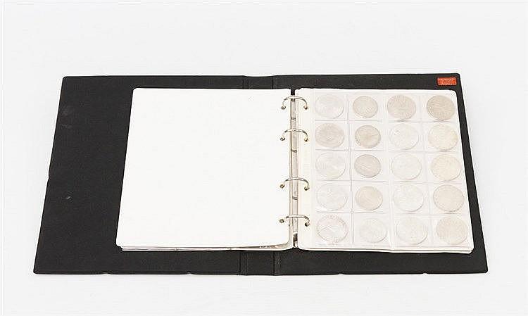 Österreich - Sammlung von 6 x 100 S; 19 x 50 S; 33 x 25 S;