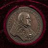 Vatikan - Bronzemedaille o.J.(1620), von Iacobo Antonio Moro, auf die Wiederherstellung der Brücke über den Liri bei Ceprano,