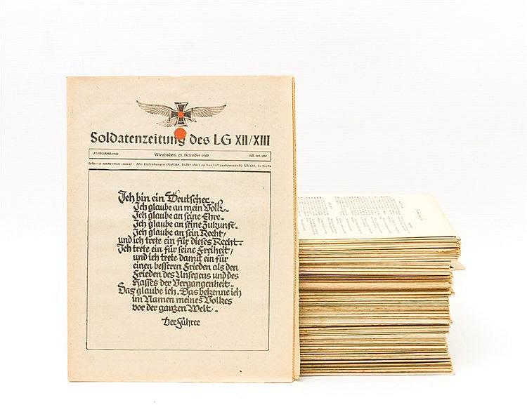 Militärzeitungen des III. Reichs - 17 Ausgaben der